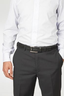 Черный плетеный ремень из замши Pellettieri Di Parma 2996154654