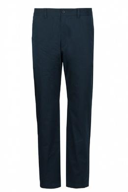 Базовые брюки темно-синего оттенка Roberto Cavalli 314155157
