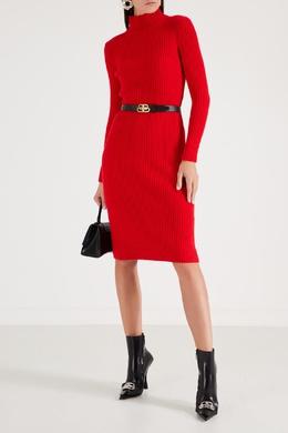 Красное облегающее платье Balenciaga 397154680