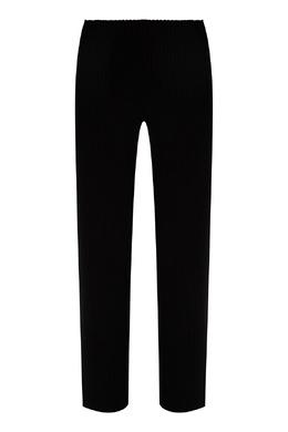 Черные брюки с отделкой в рубчик Balenciaga 397154685