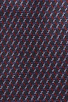 Темно-серый галстук с узорами Brioni 1670154671