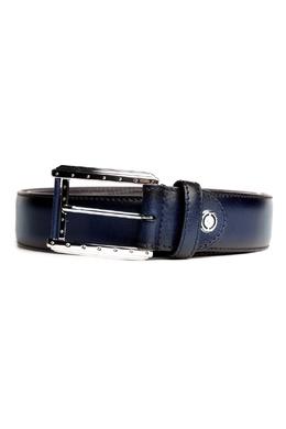 Темно-синий ремень с отделкой Pellettieri Di Parma 2996154653