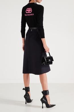 Базовый черный джемпер из шерсти Balenciaga 397154736