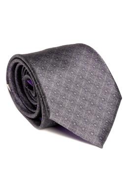 Черный галстук с узорами Brioni 1670154637