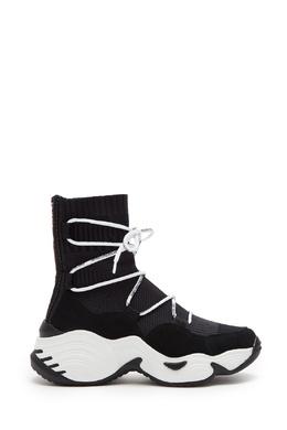 Высокие кроссовки на массивной подошве Emporio Armani 2706154138