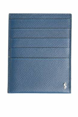 Чехол для карт синего цвета Serapian 2443154590