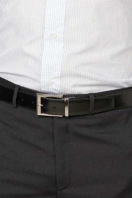 Черный ремень с логотипом Pellettieri Di Parma 2996154598
