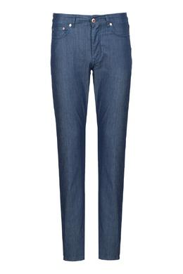 Синие джинсы с фактурной отделкой Harmont & Blaine 2552155096
