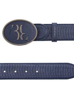 Синий ремень из змеиной кожи Billionaire 1668116848