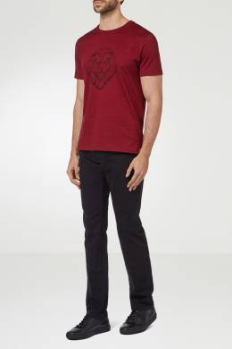 Красная футболка из джерси Billionaire 1668116967