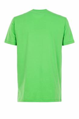Зеленая футболка Bikkembergs 1487128380