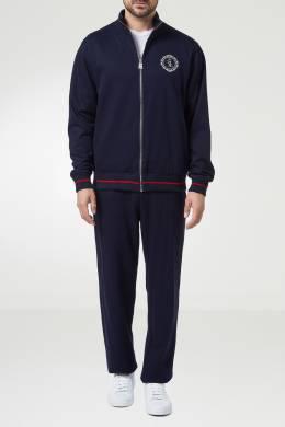 Синий костюм в спортивном стиле Billionaire 1668131731