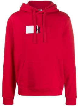 Tommy Hilfiger - embroidered logo flag hoodie MW995989553308600000
