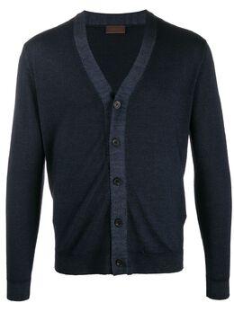 Altea - knitted slim fit cardigan 96589553503000000000