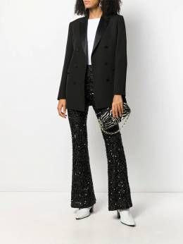 Amuse - sequin-embellished flared trousers MMYSA955398590000000