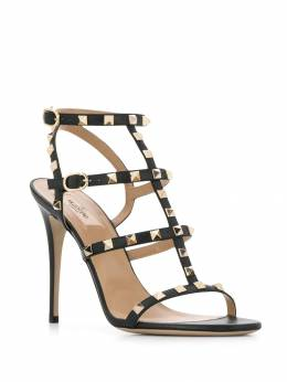 Valentino - Rockstud 130mm leather sandals S6A03VOD955385830000