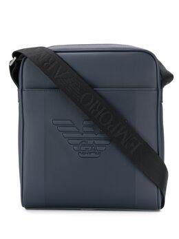 Emporio Armani - embossed logo shoulder bag 955YFE6J955368380000