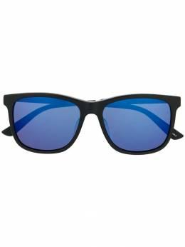Gucci Eyewear солнцезащитные очки в квадратной оправе GG0078SK001
