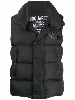 Dsquared2 - quilted puffer gilet FB6353S5035995539095