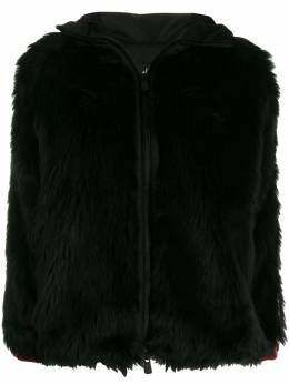 Moncler Grenoble - faux fur hooded jacket 3366899A395550959000