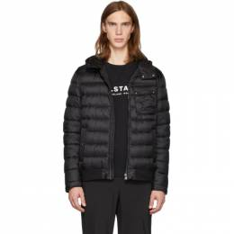 Belstaff Black Down Streamline Jacket 192084M17800201GB