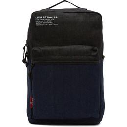 Levi's Blue Denim Backpack 192099M16600101GB