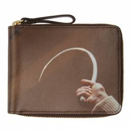Undercover Brown Suspiria Hook Zip Wallet 192414M16418501GB