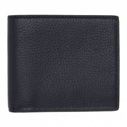 Smythson Navy Burlington 6 Card Wallet 192087M16400101GB