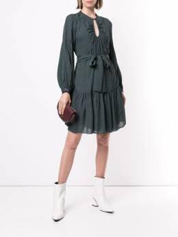 Ginger&Smart - Panacea snakeskin-effect dress 53995550339000000000