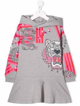 Kenzo Kids - платье с принтом 66989509555500000000