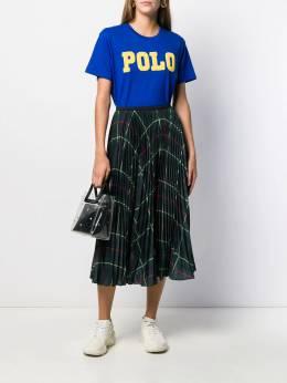 Polo Ralph Lauren - платье с плиссированным подолом в клетку тартан 36699695599386000000