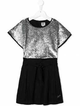 Karl Lagerfeld Kids - платье с пайетками 909M9695539955000000