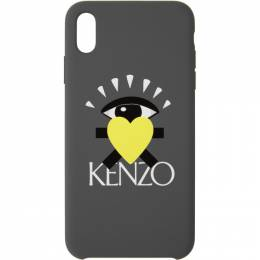 Kenzo Grey Limited Edition Eye iPhone X/XS Case 192387M15301901GB
