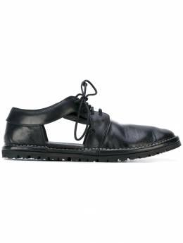 Marsèll - туфли с вырезными деталями и шнуровкой 63569663906636980000