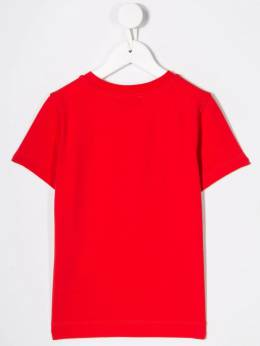Moschino Kids - футболка с логотипом 605LBA99950308960000