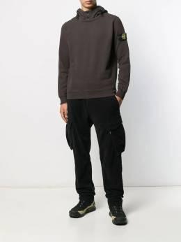 Stone Island - double-neck hoodie 99566306955599050000
