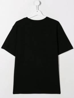 Moschino Kids - футболка DJ Teddy Bear 609LBA90955685350000