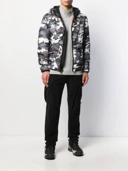 Blauer - camouflage print puffer jacket BLUC6896995508383000
