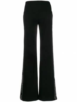 Philipp Plein - спортивные брюки со стразами CWJT9606PTE663N95536