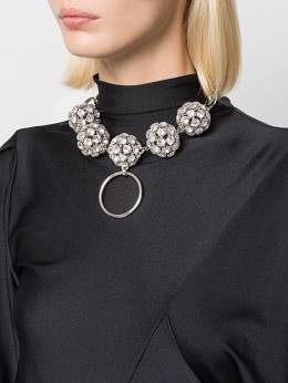 Alessandra Rich - embellished sphere necklace A9836J60595506898000