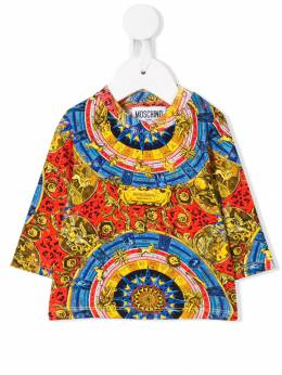Moschino Kids - футболка с принтом 69VLBB06950509550000