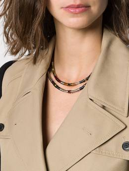 Ambush - Multi Metal Beads necklace 99859955536650000000