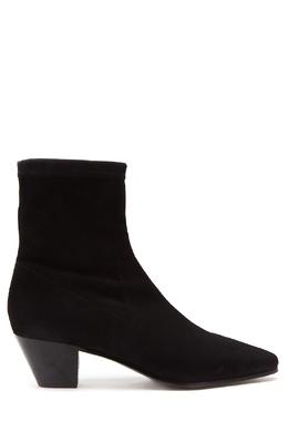 Черные ботинки из замши Maje 888153607
