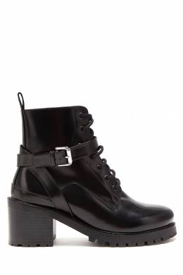 Кожаные ботинки со шнуровкой Maje 888153608