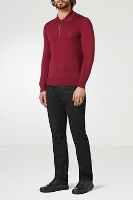 Джемпер ягодного цвета на молнии Billionaire 1668154828