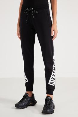 Спортивные брюки черного цвета Bikkembergs 1487154829
