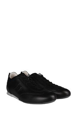 Черные кожаные кеды Hogan 1791154800