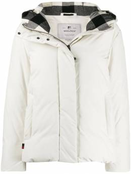 Woolrich - hooded padded jacket 99559639900000000000