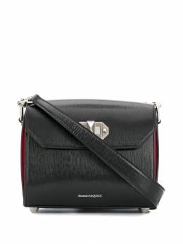 Alexander McQueen - сумка на плечо с поворотным замком 8069L36Y955566360000