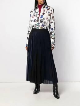 Victoria Victoria Beckham - плиссированная юбка миди 9WSK666996B959959680